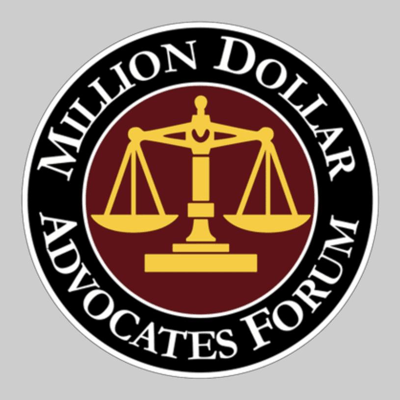 Million dollar advocates forum attorneys for all.
